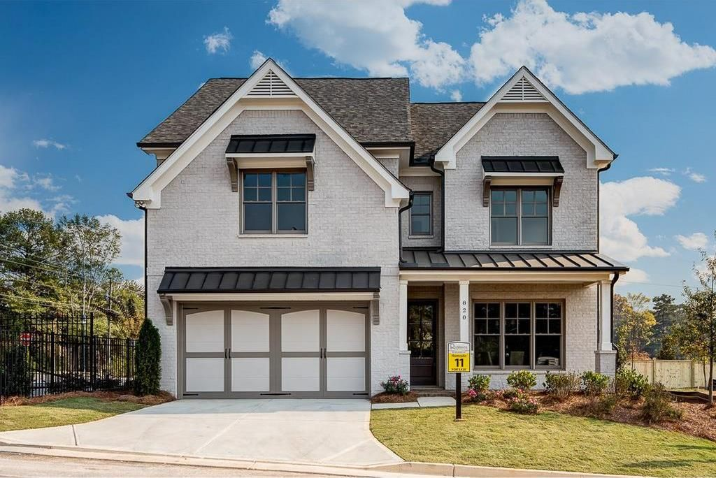 Single family homes at Enclave at Mt. Paran