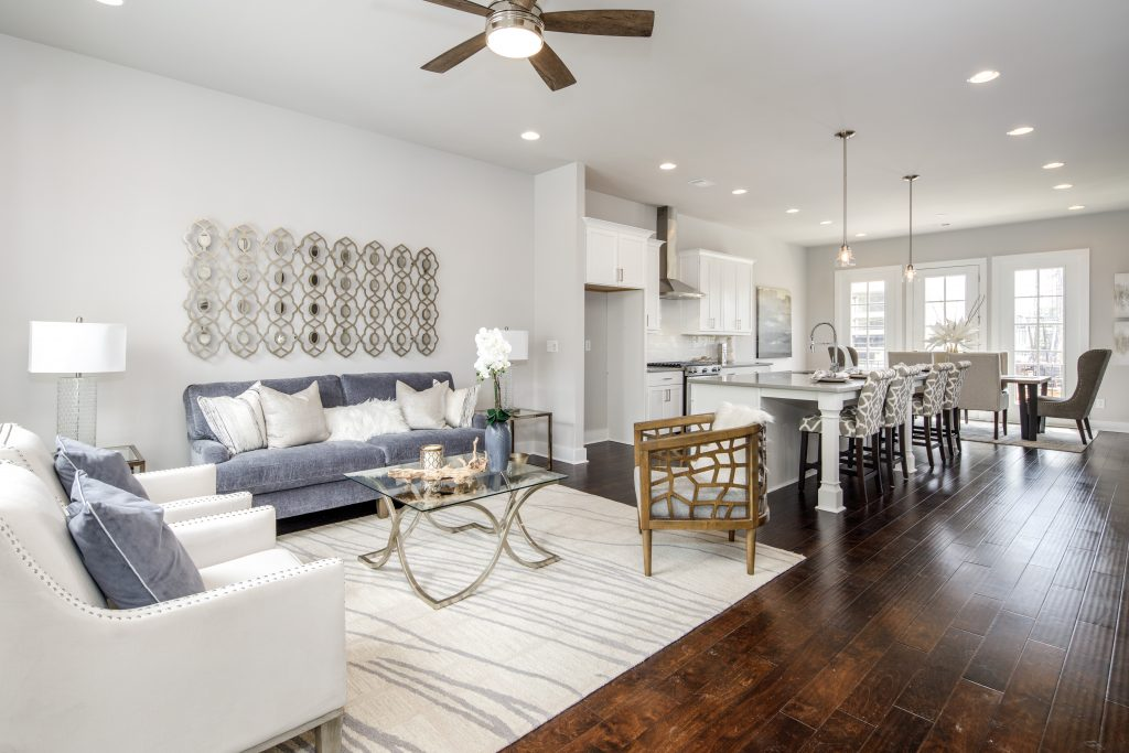 Tour our open concept townhomes during the Exclusive Summer Move In Special