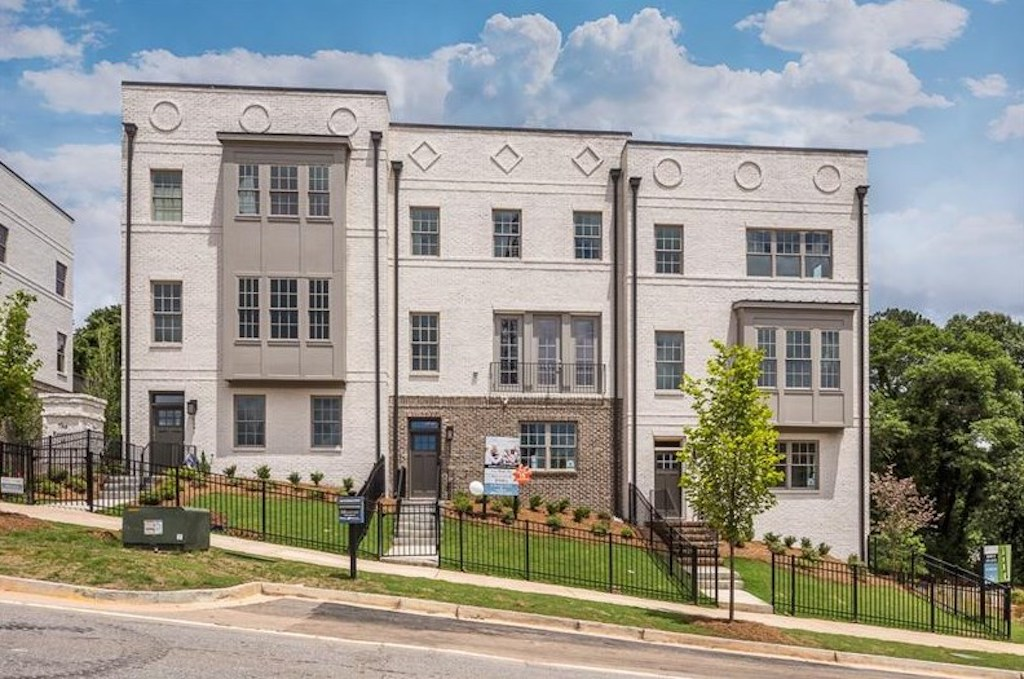 The townhomes at Reserve at City Center are the perfect place to call home